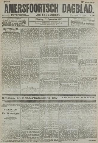 Amersfoortsch Dagblad / De Eemlander 1916-12-12