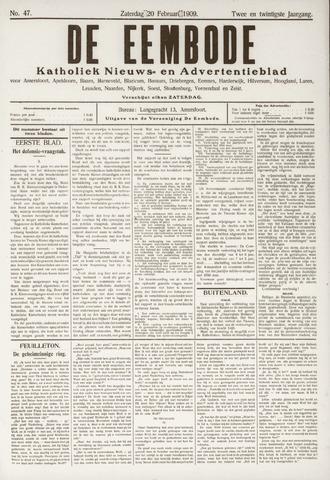 De Eembode 1909-02-20