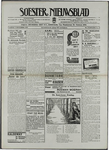 Soester Courant 1939-11-03