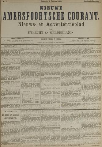 Nieuwe Amersfoortsche Courant 1885-02-11