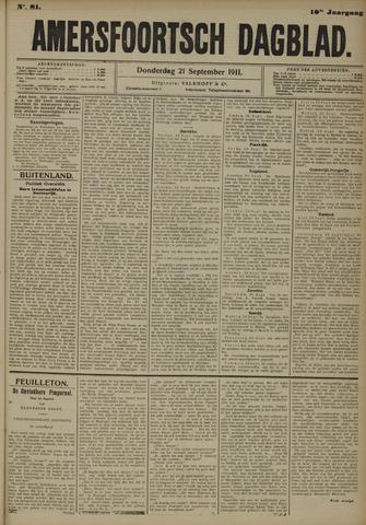 Amersfoortsch Dagblad 1911-09-21