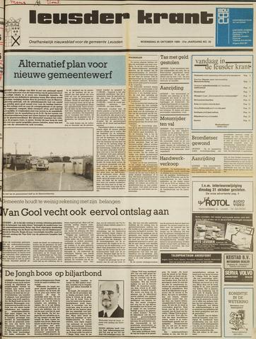 Leusder Krant 1989-10-25