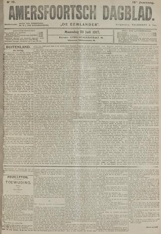 Amersfoortsch Dagblad / De Eemlander 1917-07-23