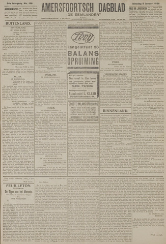 Amersfoortsch Dagblad / De Eemlander 1926-01-05