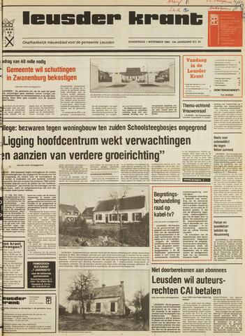 Leusder Krant 1984-11-01