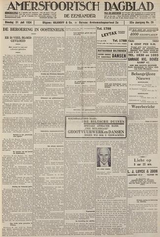 Amersfoortsch Dagblad / De Eemlander 1934-07-31