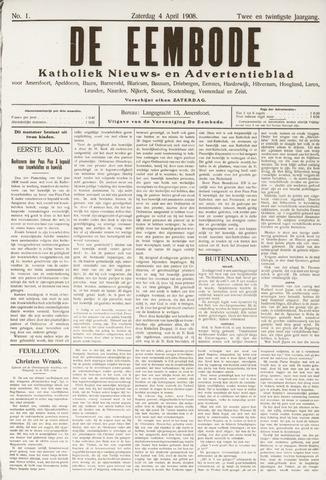 De Eembode 1908-04-04