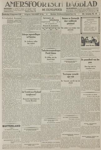 Amersfoortsch Dagblad / De Eemlander 1930-08-14