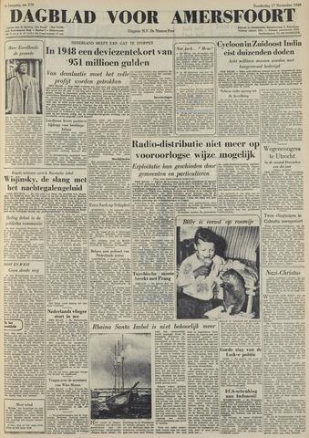 Dagblad voor Amersfoort 1949-11-17