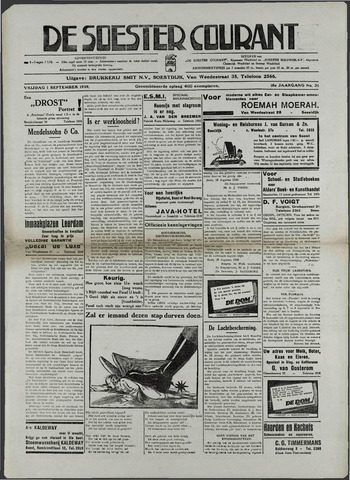 Soester Courant 1939-09-01