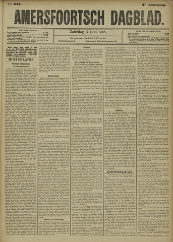 Amersfoortsch Dagblad 1905-06-17