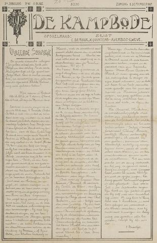De Kampbode 1917-09-02
