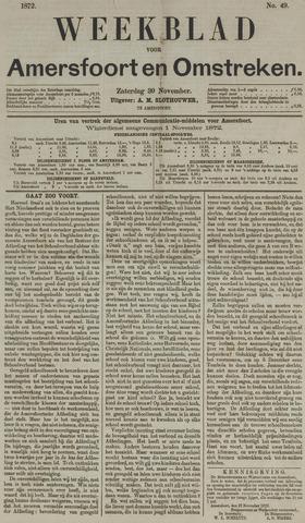 Weekblad voor Amersfoort en Omstreken 1872-11-30