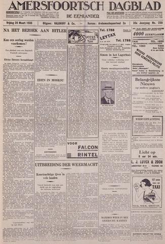 Amersfoortsch Dagblad / De Eemlander 1935-03-29