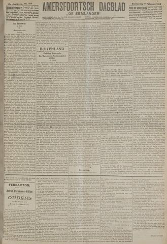 Amersfoortsch Dagblad / De Eemlander 1918-02-07