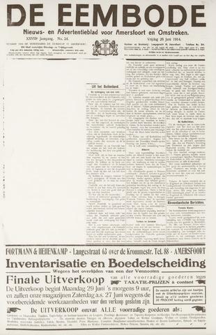 De Eembode 1914-06-26