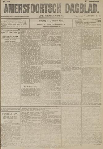 Amersfoortsch Dagblad / De Eemlander 1913-01-17