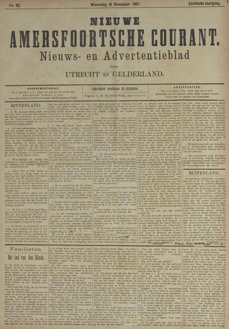Nieuwe Amersfoortsche Courant 1887-11-16