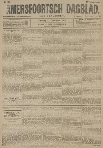 Amersfoortsch Dagblad / De Eemlander 1915-12-28