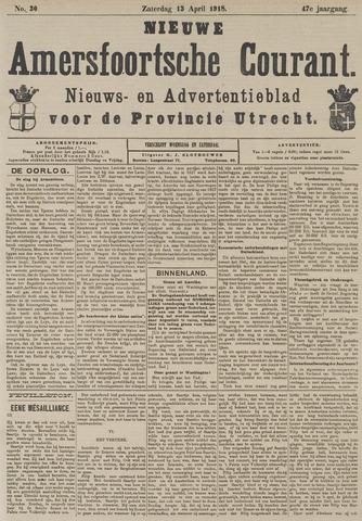 Nieuwe Amersfoortsche Courant 1918-04-13