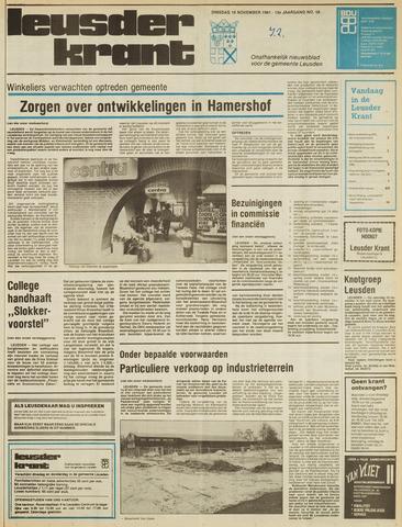 Leusder Krant 1981-11-10