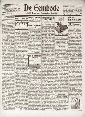 De Eembode 1935-10-18