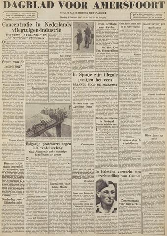 Dagblad voor Amersfoort 1947-02-04