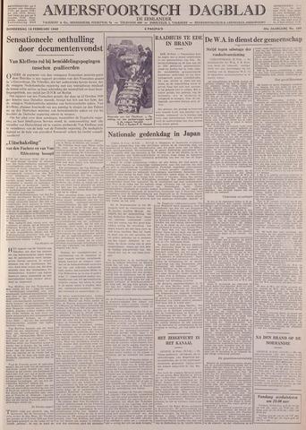 Amersfoortsch Dagblad / De Eemlander 1942-02-19