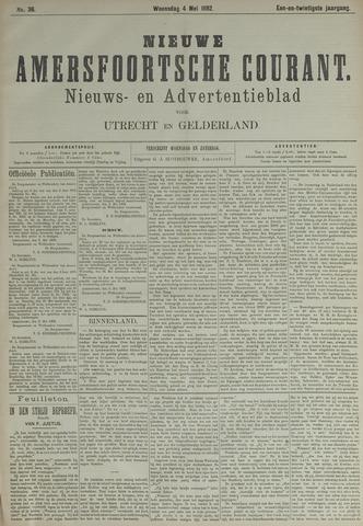 Nieuwe Amersfoortsche Courant 1892-05-04