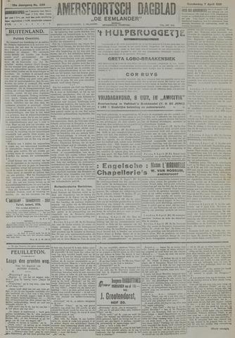Amersfoortsch Dagblad / De Eemlander 1921-04-07