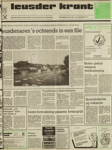 Leusder Krant 1987-07-23