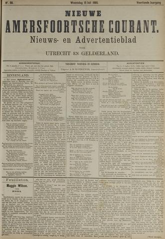 Nieuwe Amersfoortsche Courant 1885-07-15
