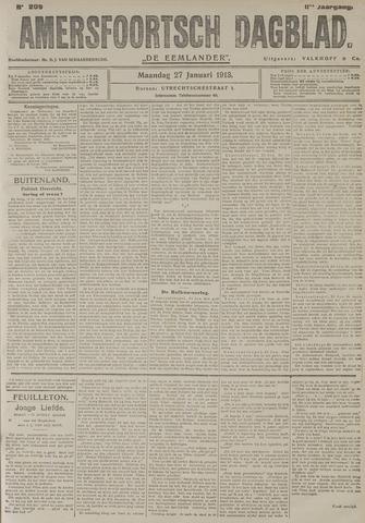 Amersfoortsch Dagblad / De Eemlander 1913-01-27