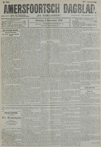 Amersfoortsch Dagblad / De Eemlander 1916-12-05