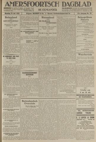 Amersfoortsch Dagblad / De Eemlander 1933-07-24
