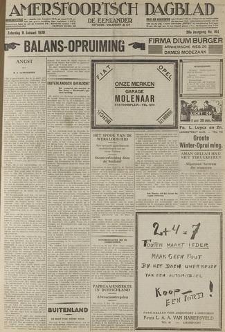 Amersfoortsch Dagblad / De Eemlander 1930-01-11