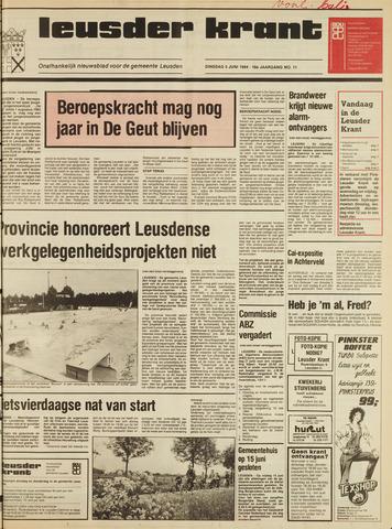 Leusder Krant 1984-06-05