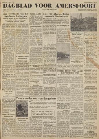 Dagblad voor Amersfoort 1948-04-01