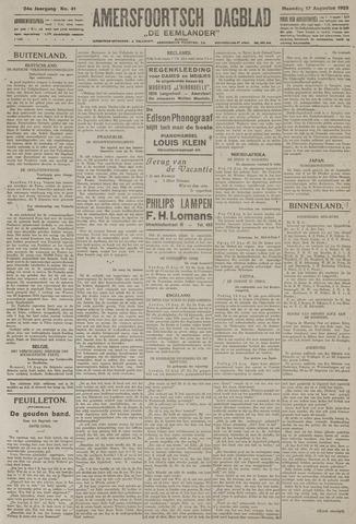 Amersfoortsch Dagblad / De Eemlander 1925-08-17
