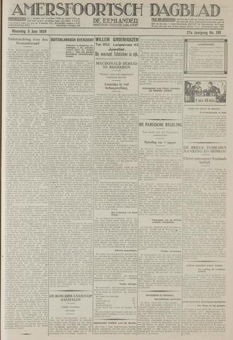 Amersfoortsch Dagblad / De Eemlander 1929-06-03