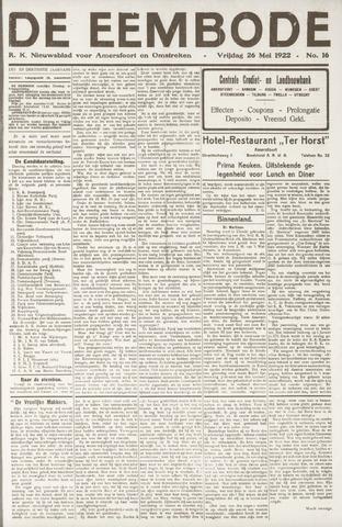 De Eembode 1922-05-26