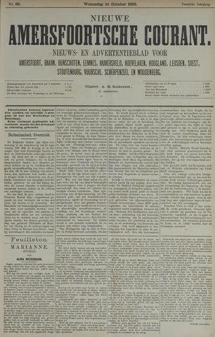 Nieuwe Amersfoortsche Courant 1883-10-24