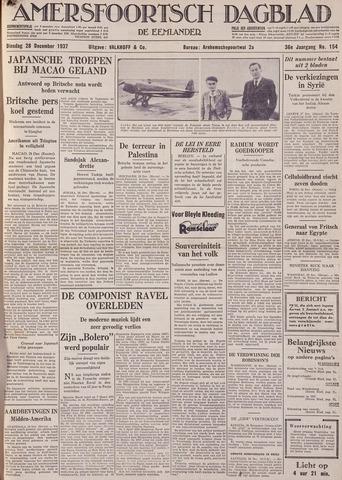 Amersfoortsch Dagblad / De Eemlander 1937-12-28