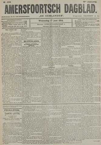 Amersfoortsch Dagblad / De Eemlander 1914-06-17