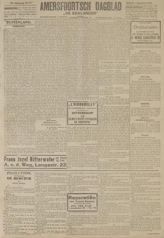 Amersfoortsch Dagblad / De Eemlander 1922-08-01
