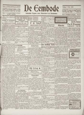 De Eembode 1933-02-03