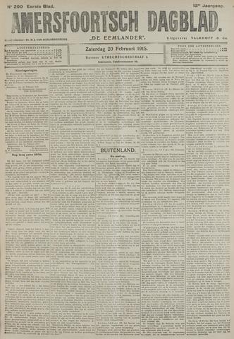 Amersfoortsch Dagblad / De Eemlander 1915-02-20