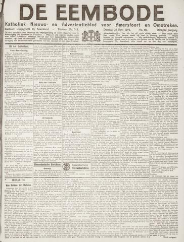 De Eembode 1916-11-28