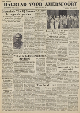Dagblad voor Amersfoort 1948-06-29