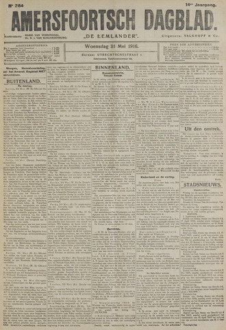Amersfoortsch Dagblad / De Eemlander 1916-05-31